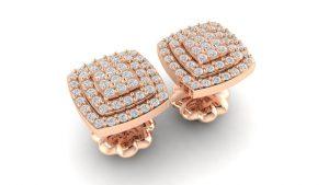 Rose Earrings, Rs.32,364