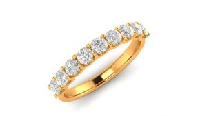Yellow Gold Ring.Rs. 39,936