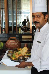 Chef Ajith Kumar at Kitchen District - Hyatt Regency Gurgaon