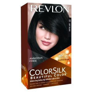 Color Silk Soft Black - Revlon