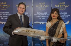 Etihad Airways Flagship Airbus A380 Service to Mumbai - Dubai