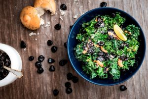 Kale Purple Corn Salad