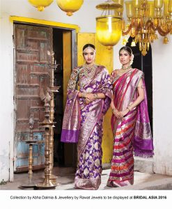 Collection by Abha Dalmia and Jewellery by Rawat Jewels to be displayed at BRIDAL ASIA 2016