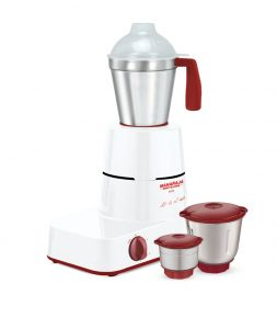Solo Mixer Grinder - Happiness Red and White