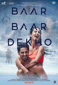 Baar Baar Dekho - EROS - Excel Entertainment - Dharma Productions