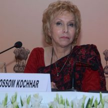Dr.Blossom Kochhar addressed the audience at the CII Wellness Conference on The Global Wellness Industry – Witnessing a Change