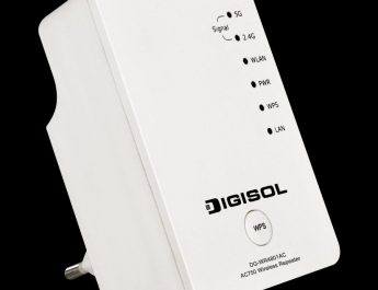 DG-WR4801AC DIGISOL launches AC750 Dual Band Wireless Range Extender