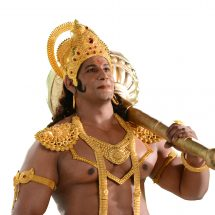 STAR Plus – Danish Akhtar listens to the Hanuman chalisa while working out