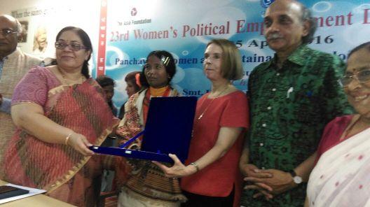 Dongaria Kondh Sarapanch gets National Award