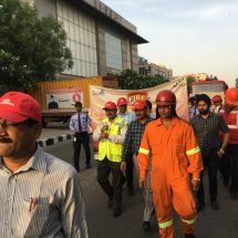 DLF Place observes National Fire Service week