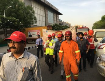 Fire Safety week at DLF Place Saket