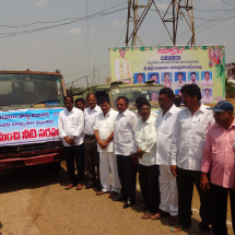 """GangavaramPort inaugurates """"Water Distribution Program"""" for nearby villages"""