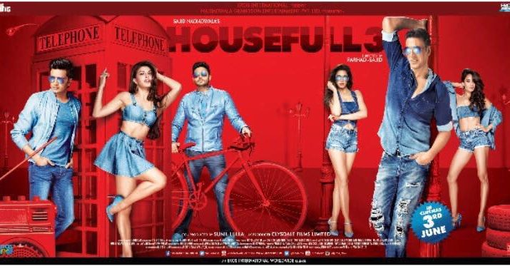 HouseFull3 - Akshay Kumar - Abhishek Bachchan - June 3