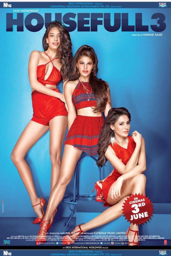 HouseFull3 - Jacqueline Fernandez, Lisa Haydon, Nargis Fakhri