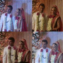 Karan Singh Grover in Jaipur Jewels Brooch for his Wedding ceremony
