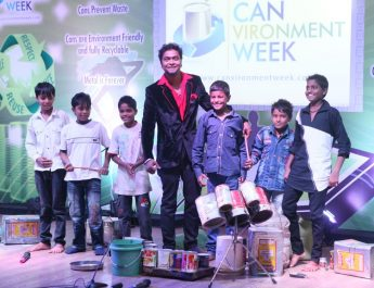 Mahendra Bhatt - Indias Got Talent Runners Up - Training the rag-pickers children from a Delhi school