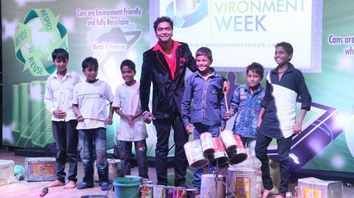 Mahendra Bhatt - Indias Got Talent Runners Up - Training the rag-pickers children from a Delhi school