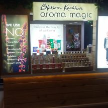 Blossom Kochhar Aroma Magic launches its first kiosk in Pune at SGS Mall