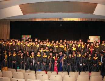 Students of School of Inspired Leadership, Gurgaon at 7th Convocation