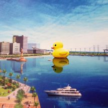 The world famous Rubber Duck is all set to capture Macao's attention this 29th April to 29th May 2016