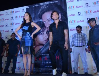 Tiger Shroff and Shraddha Kapoor at TGIP