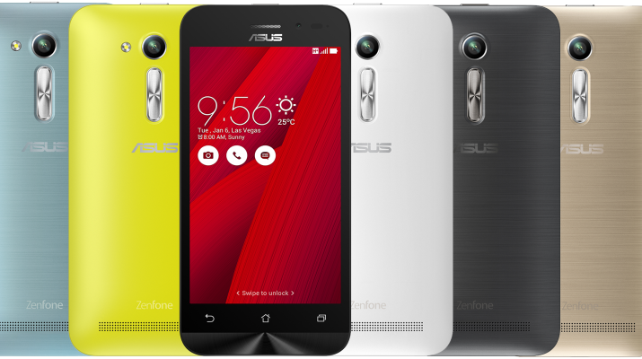 ASUS Launches the Zenfone Go 4.5 2nd Generation - ZB452KG Variant in India