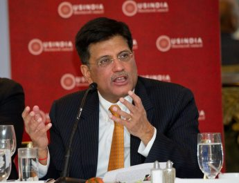 India's Energy Minister, Piyush Goyal Discusses Opportunities in the Renewable Energy Sector with U.S. and Indian Industry