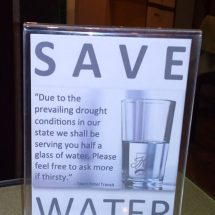 Hotel Industry Unites For The Cause Of Water Conservation