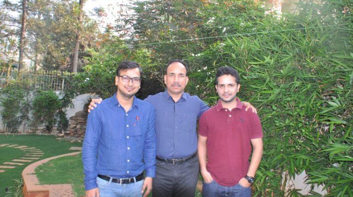 Abhishekh Bhatt, Rajeeb Roy & Sidharth Kumar - Founders of TheAgrihub
