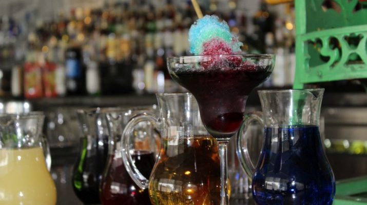 Alcoholic and Non Alcoholic Chuskis at The Long Bar - Hyatt Regency Gurgaon