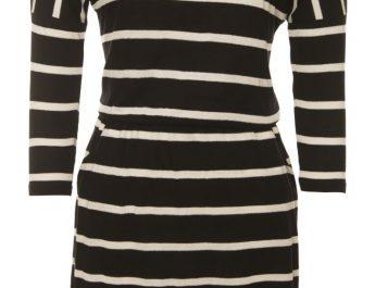 Being Human Monochrome Drop Shoulder Dress