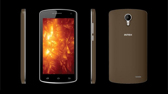 Intex Cloud Fame 4G - Brown