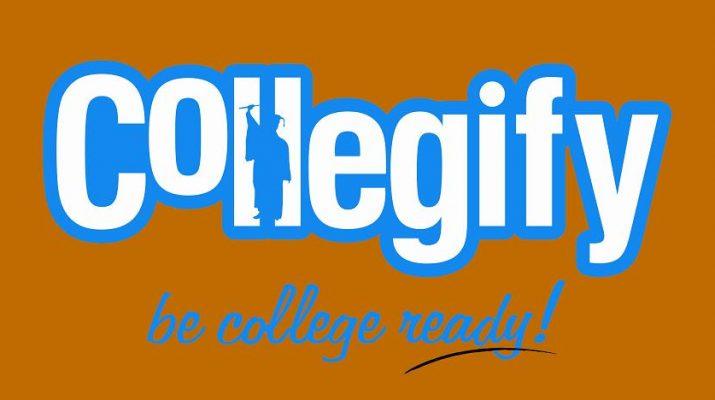 Collegify Logo with Orange Background