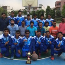 Delhi School basketball Team wins yet another award