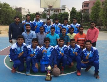 Delhi School basketball Team won yet another award