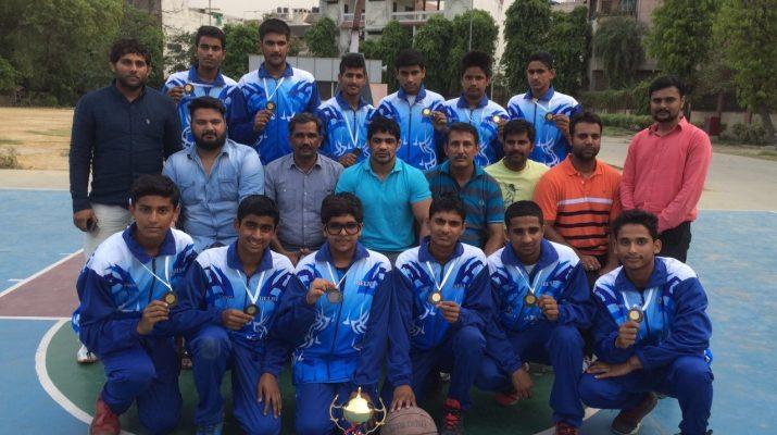 Delhi School basketball Team won yet another award