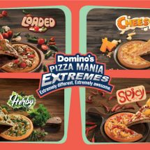 Domino's Launches new 'Pizza Mania Extremes'
