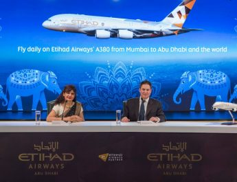 Etihad Airways Flagship Airbus A380 Service to Mumbai