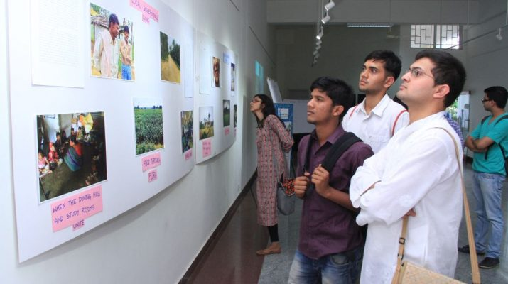 In Pursuit of Justice - Photo exhibition by Azim Premji Univrsity students