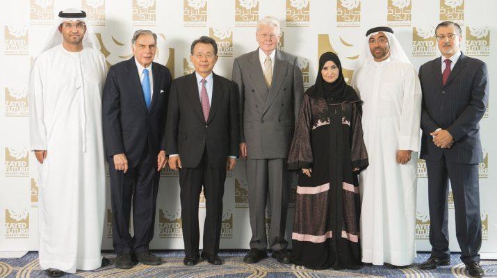 Jury Members of Zayed Future Energy Prize - 2016