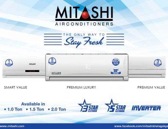 Mitashi - AC Range Launch