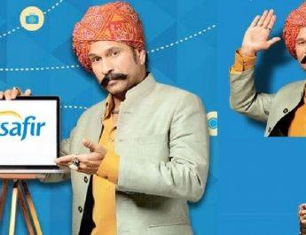 Musafir.com with mytaxiindia - Sachin