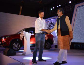 Rahul Dravid and Kailash Satyarthi
