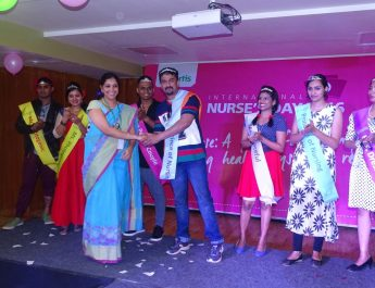 Ramp Walk by the nurses