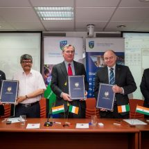 'University College Dublin', 'Irish Red Cross' and 'Indian Red Cross Society' announces collaboration
