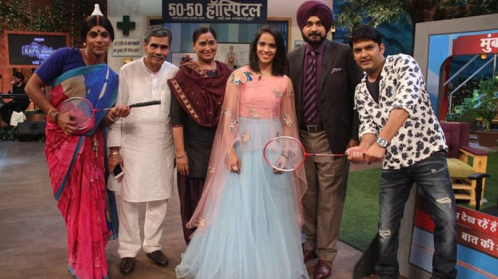 Saina Nehwal on The Kapil Sharma Show