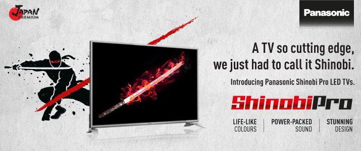 Shinobi Pro LED TV series - Offer