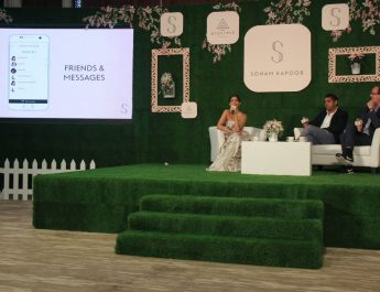 Sonam Kapoor,varun Talreja & CEO of Disciple Media, Benji Vaughan