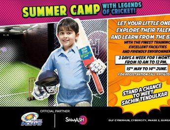 Summer Camp 6-15 yrs at Smaaash Gurgaob Cyberhub