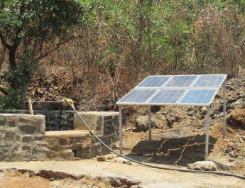 Solar powered pumps